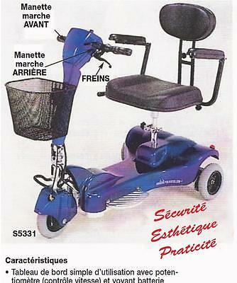 SCOOTER MEDICAL  3 roues