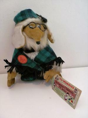 "Vintage The Wombles Great Uncle Bulgaria Rainbow Toys Plush Soft Doll 9"" Tall"