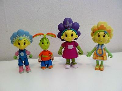Fifi & The Flowertots Kids TV Cartoon Toy Action Figures Set Cake Toppers x 4