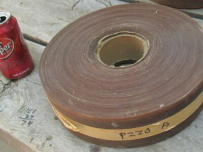 2.75 (2-3/4) in.wide X 315ft long Sandpaper Roll (220grit) Alum/Ox Cloth Backed