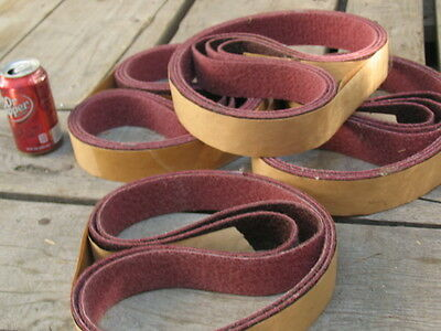 "Two inch (2"") wide X 48"" Non-Woven / Abrasive Fiber Mesh Sandpaper Buffing Belt"