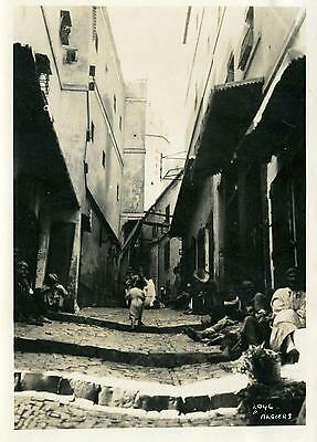 Real Photo  algiers   1 2 6x4 inch 1920s-30s6