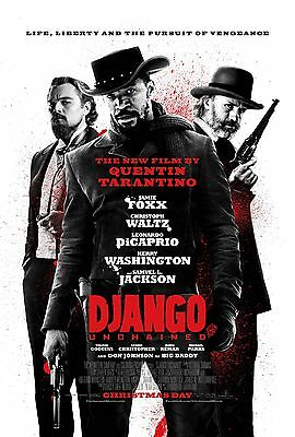 """Django Unchained"" Jamie Foxx ...Classic Movie Poster A1A2A3A4Sizes"