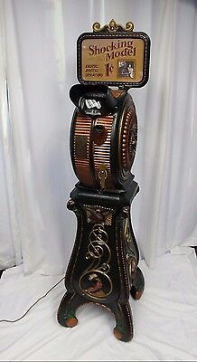 1900s Mutoscope 1c Indian Head Viewer Cast Iron Museum Quality Coin Op Machine