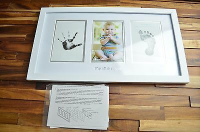 "Pearhead Photo Moments Frame, White ,My little prints Read Description 10""x17"""