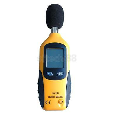 Mini Digital LCD Sound Level Meter Tester High Low Frequency 30dB ~ 130dB