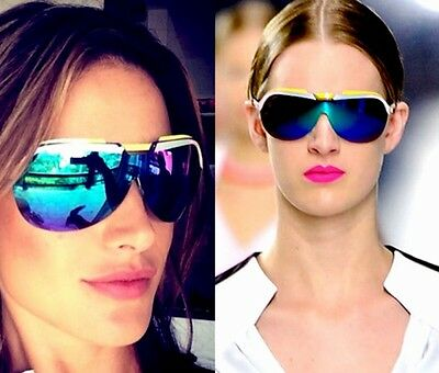 NEW CHRISTIAN DIOR SUNGLASSES Italy Yellow Pink Turquoise Solar S06OST599 UNISEX