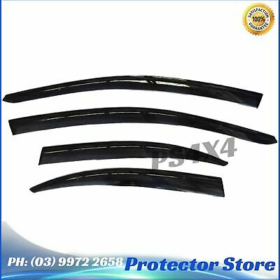 Superior INJECTION WEATHER SHIELDS for Mitsubishi Lancer EX 10-15 Window Visors