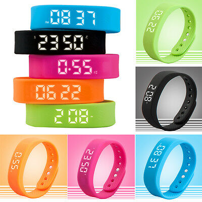 3D Smart Watch Pedometer Step Walking Distance Calorie Counter Activity Tracker