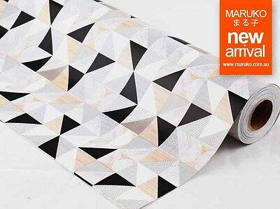 EVERYDAY GEO MARBLE GIFT WRAPPING PAPER 50cm x 5 METERS