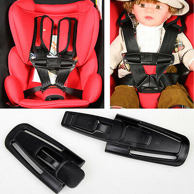 Car Baby Safety Seat Nylon Strap Belt Harness Chest Buckle Protector For Baby RI