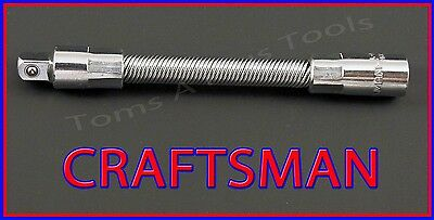 "CRAFTSMAN HAND TOOLS 1/4"" dr 4"" Flex ratchet wrench socket extension (FREE SHIP)"