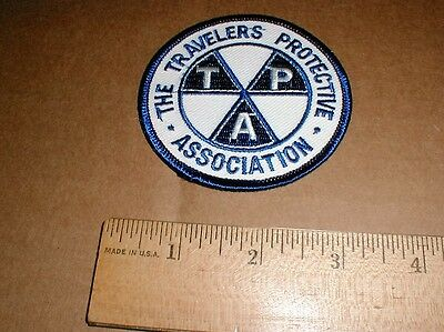 Advertising Collectibles With The Best Service Circa 1910 Tpa Travelers Protective Association Pinback Button Badge