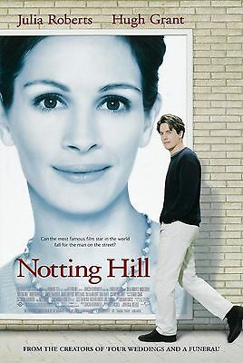 """Notting Hill""..Julia Roberts, Hugh Grant  ...Classic Movie Poster A1A2A3A4Sizes"