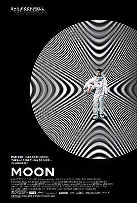 """Moon""..Kevin Spacey Sam Rockwell...Classic Sc-Fi Movie Poster A1A2A3A4Sizes"