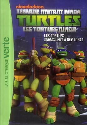 les Tortues Ninja T.1   les tortues débarquent à New York ! Nickelodeon Occasion