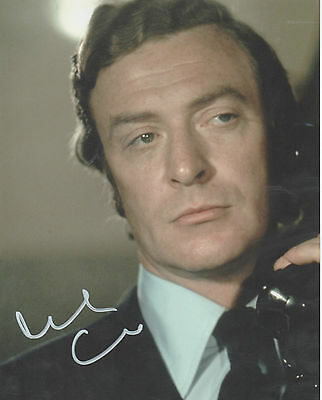 GET CARTER personally signed 10x8 - MICHAEL CAINE