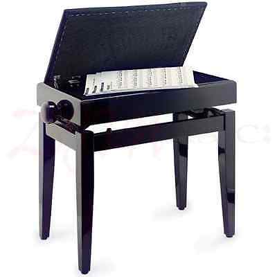 Ebay Item - Stagg Adjustable Piano Stool with Storage - Cracked and