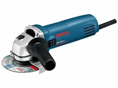 Bosch GWS 850C 115mm Angle Grinder with Case and Blade 240v