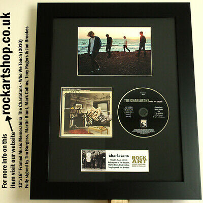 CHARLATANS Who We Touch *FULLY SIGNED BY TIM+MARTIN+MARK+JON+TONY* AUTOGRAPHED