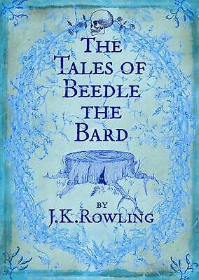 The Tales of Beedle the Bard by J.K. Rowling Hardcover Book