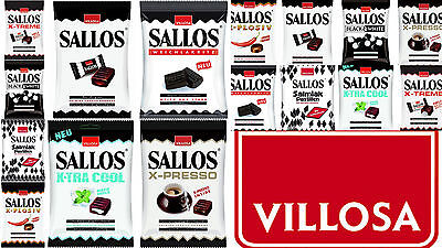 2 x SALLOS Licorice Bags  *Largest Sallos Selection with 8 different products*