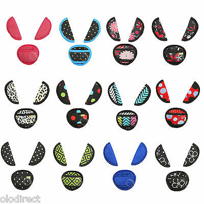 Belts pads shoulder STRAP CROTCH cover UNIVERSAL fit ALL seats & maxi cosi NEW