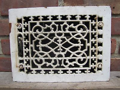 Antique Cast Iron Ventilation Grate old architectural building hardware vent 2