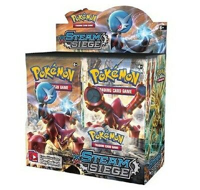 Pokemon XY Steam Siege Booster New Sealed TCG Card Game - 1 BOOSTER PACK