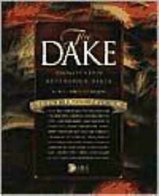 Dake Annotated Reference Bible-KJV-Large Print (English) Bonded Leather Book Fre