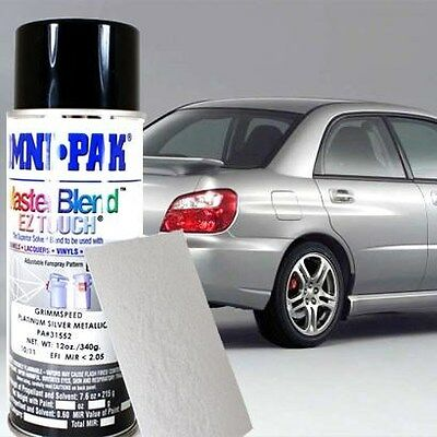 GrimmSpeed Platinum Silver Metallic Paint PSM 12oz Spray Can For Subaru WRX STi