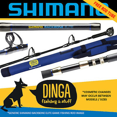 Shimano Backbone Elite Overhead Game Rods