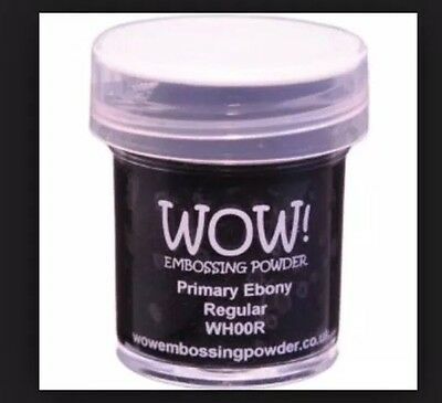 WOW primary ebony embossing powder