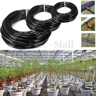 5m/10m/20m Watering Tubing PVC Hose Pipe 4/7mm Micro Dripper Irrigation System
