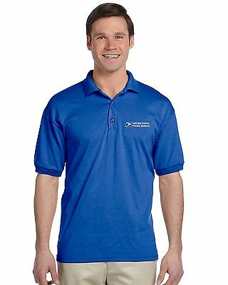 USPS Royal Blue Polo NEW FAST SHIPPING!!! BUY 2 GET 1 FREE!!!