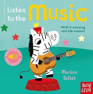 Listen to the Music by Nosy Crow Board Books Book Free Shipping!