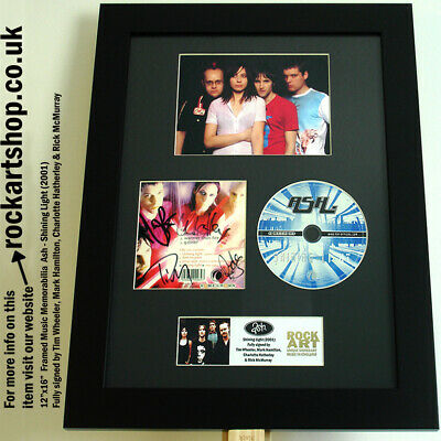 ASH Shining Light *FULLY SIGNED BY TIM+MARK+RICK+CHARLOTTE* Autographed WORLD
