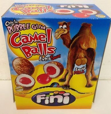 200 Camel Balls Novelty Bubblegum Sour Candy