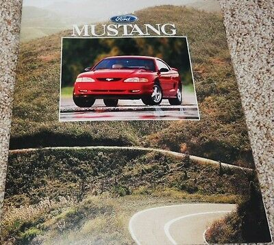 1996 Ford Mustang & Mustang GT Dealer Sales Brochure