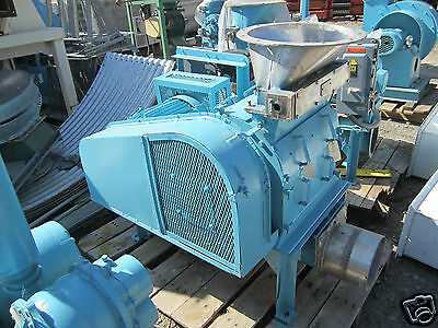 "15 HP Young Industries SS Stainless Steel 0.125"" Screen Granulator Size 1218"