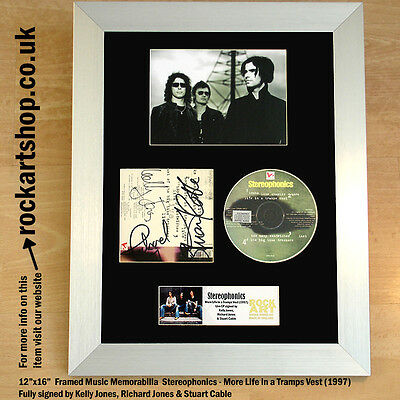 Stereophonics CD SIGNED KELLY RICHARD JONES STUART CABLE Autographed *WORLD SHIP