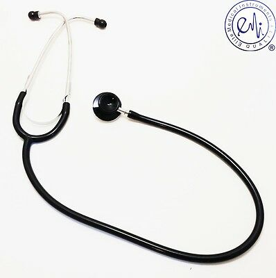 New Dual Head Infant Pediatric Stethoscope Color Black - US Seller Free Shipping