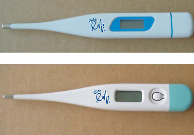 NEW 2 Digital Thermometers Mercury Free- Both Colors Free Fast Ship US seller