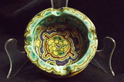 Antique Schoonhoven Holand Pindas Pottery 1915-1930 Ashtray
