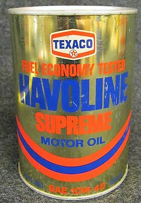Vintage TEXACO Havoline Supreme Motor Oil Savings Bank  (AB20)