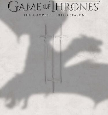 Game of Thrones The Complete Third 3 3rd Season (Blu-ray/DVD 2014 7-Disc Set)