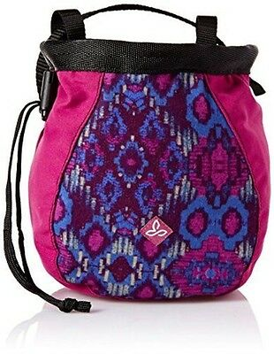prAna Women's Large Chalk Bag With Belt, One Size, Viola Charmer