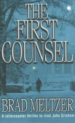 The First Counsel by Brad Meltzer Paperback Book