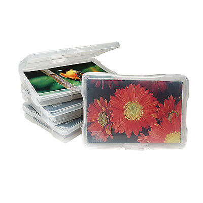 "IRIS® Photo Craft Cases SET OF 10 4""x6"" Scrapbooking Project Life USA"
