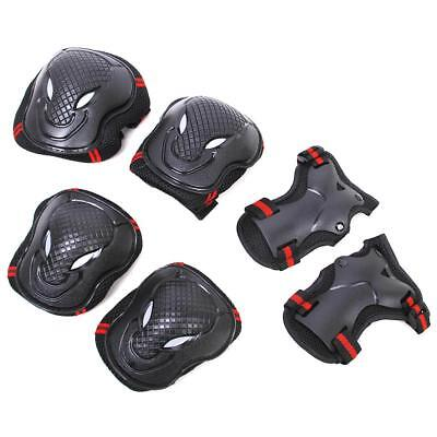 6pcs Kids Roller Skate Skating Cycling Knee Elbow Wrist Protective Gear Pads